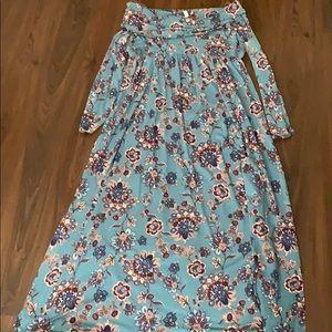 NWOT Off the Shoulder 3/4 Sleeve Plus Size Dress